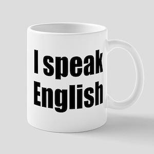 I speak English Mug