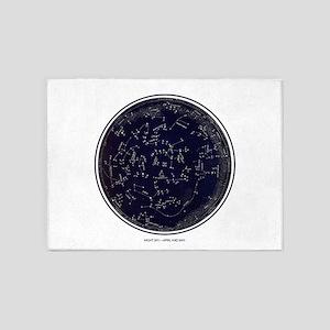 Star Chart 5'x7'Area Rug