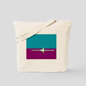 ROWER TEAL PURPLE Tote Bag