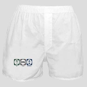 Eat Sleep Elevators Boxer Shorts