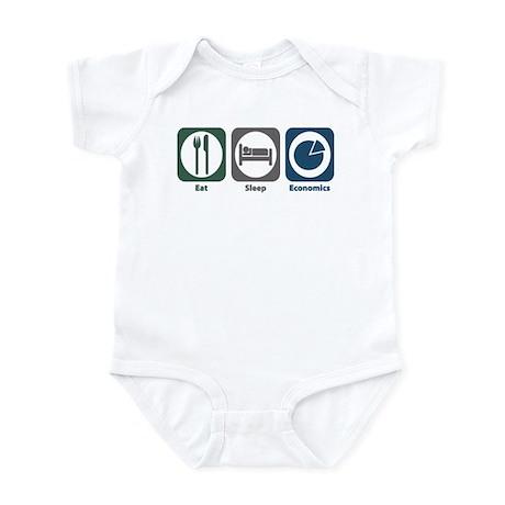 Eat Sleep Economics Infant Bodysuit