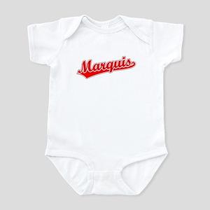 Retro Marquis (Red) Infant Bodysuit