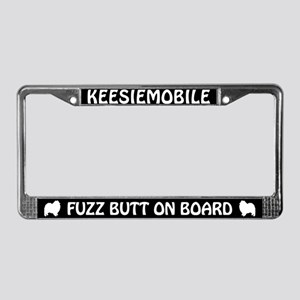 KEESIEMOBILE Fuzz Butt License Plate Frame