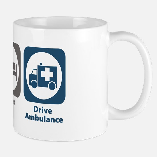 Eat Sleep Drive Ambulance Mug