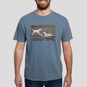 Hands Off Lab Puppy Mens Comfort Colors Shirt