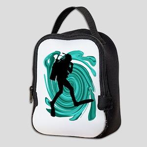 SCUBA Neoprene Lunch Bag