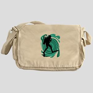 SCUBA Messenger Bag