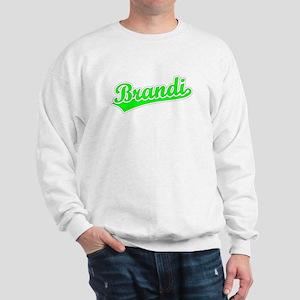 Retro Brandi (Green) Sweatshirt