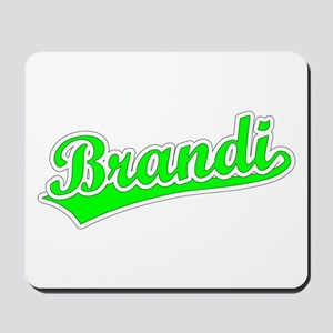 Retro Brandi (Green) Mousepad