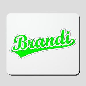Retro Brandi (Green) Mousepad