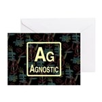 AGNOSTIC RETRO Greeting Cards (Pk of 10)
