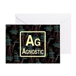 AGNOSTIC RETRO Greeting Card