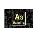 AGNOSTIC RETRO Rectangle Magnet (100 pack)