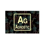 AGNOSTIC RETRO Rectangle Magnet