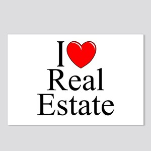 """I Love (Heart) Real Estate"" Postcards (Package of"