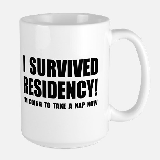 Residency Survivor Large Mug