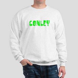 Conley Faded (Green) Sweatshirt