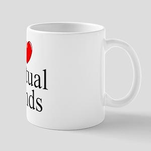 """I Love (Heart) Mutual Funds"" Mug"