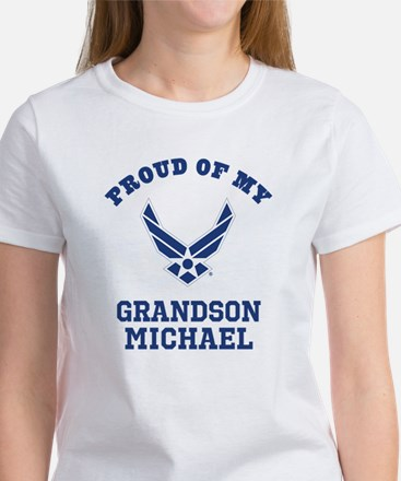 Air Force Grandson Personalized T-Shirt