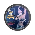 Vintage belly dance album Wall Clock