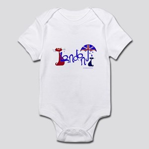 London Kitty Infant Bodysuit