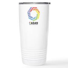 ASAN Typography 16 oz Stainless Steel Travel Mug