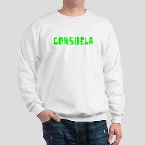 Consuela Faded (Green) Sweatshirt