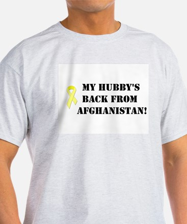 Hubby back from Afghan Ribbon T-Shirt