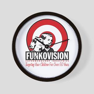Funk-O-Vision Wall Clock