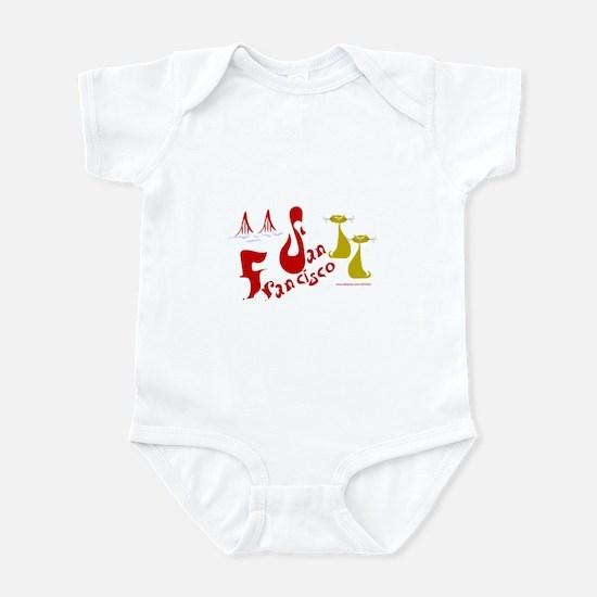 SF Kitty Infant Bodysuit