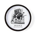 Moloch Wall Clock
