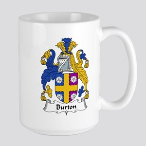 Burton Family Crest Mugs