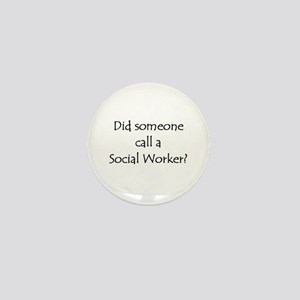 Call a Social Worker Mini Button