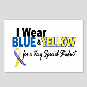 I Wear Blue & Yellow....2 (Special Student) Postca
