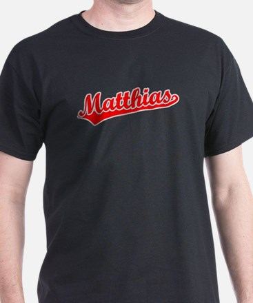 Retro Matthias (Red) T-Shirt