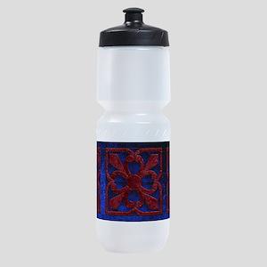 Harvest Moons Renaissance Quilt Sports Bottle