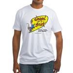 Weasel-on-a-Stick Fitted T-Shirt