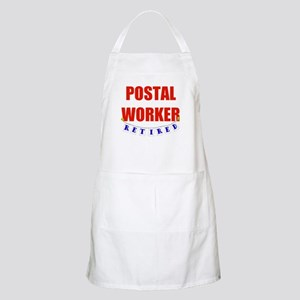 Retired Postal Worker BBQ Apron