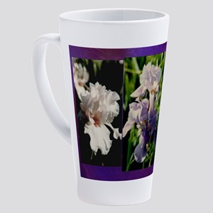 Harvest Moons Iris 17 oz Latte Mug