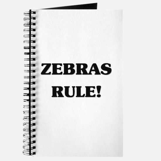 Zebras Rule Journal