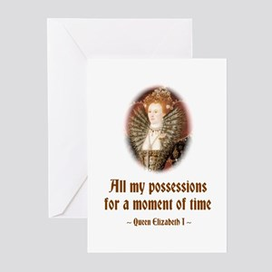 Moment in Time Greeting Cards