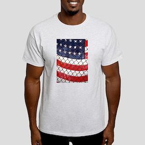 Schoolyard Flag Ash Grey T-Shirt