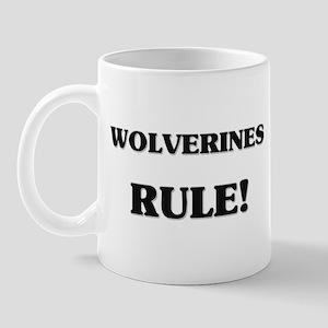 Wolverines Rule Mug