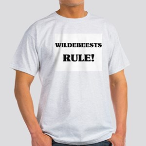 Wildebeests Rule Light T-Shirt