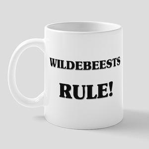 Wildebeests Rule Mug