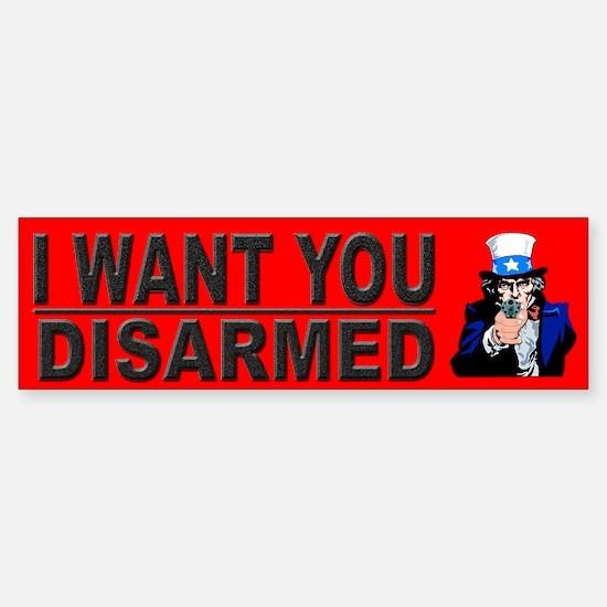 Funny Pro Gun Bumper Bumper Bumper Sticker