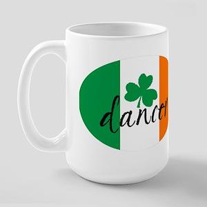 Irish Dance Euro design Large Mug