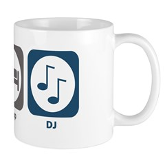 Eat Sleep DJ Mug