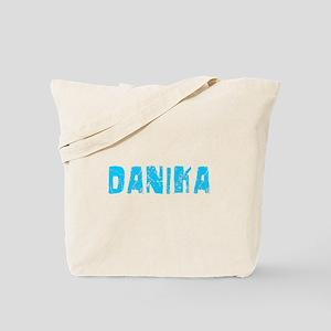 Danika Faded (Blue) Tote Bag