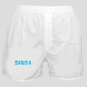 Danika Faded (Blue) Boxer Shorts